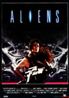 Cartel de Aliens